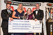 National League South Champions - Torquay United during the National League Gala Awards at Celtic Manor Resort, Newport, United Kingdom on 8 June 2019.