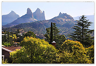 Weird and wonderful geology in a typical Neighborhood around beautiful Sedona Arizona, USA