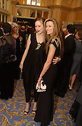 Jodhi May and Natasha McElhone. Laurence Oliver Awards, Hilton Hotel. 26 February 2006. ONE TIME USE ONLY - DO NOT ARCHIVE  © Copyright Photograph by Dafydd Jones 66 Stockwell Park Rd. London SW9 0DA Tel 020 7733 0108 www.dafjones.com