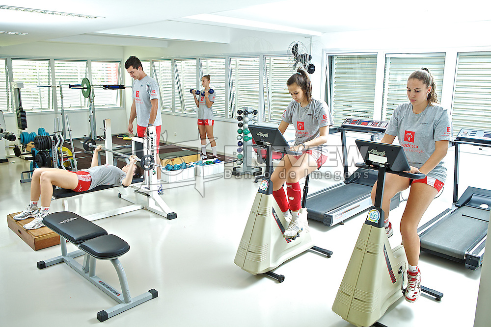 Academia de ginástica no ADC Bradesco Esporte e Educação, em Osasco. FOTO: Jefferson Bernardes/Preview.com