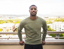 January 30, 2018 - Hollywood, CA, USA - Michael B. Jordan stars in the movie Black Panther (Disney) Marvel (Credit Image: © Armando Gallo via ZUMA Studio)