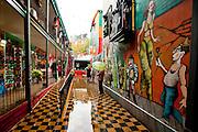 Colorful La Boca district in Buenos Aires, Argentina
