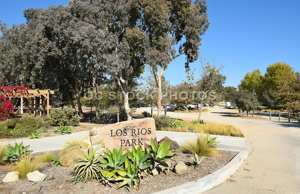 Los Rios Park in the Historic District of San Juan Capistrano