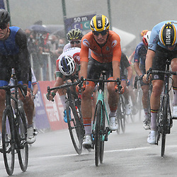 27-08-2020: Wielrennen: EK wielrennen: Plouay<br /> Olav Kooij (Netherlands / Team Jumbo Visma Academy) werd vijfde