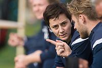 Fotball , <br /> Toppserien 2019 , <br /> 15.02.19<br /> Treningsleir , <br /> Belek , Tyrkia<br /> Stabæk - Avaldsnes<br /> Stabæk trener Vanja Stefanovic<br /> Foto: Astrid M. Nordhaug