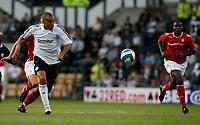 Photo: Steve Bond.<br />Derby County v Nottingham Forest. Pre Season Friendly. 31/07/2007. Craig Fagan breaks through and scores goal no2