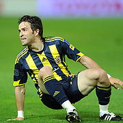 Fenerbahce's Gokhan GONUL during their Turkish superleague soccer derby match Fenerbahce between Trabzonspor at the Sukru Saracaoglu stadium in Istanbul Turkey on Sunday 16 May 2010. Photo by TURKPIX