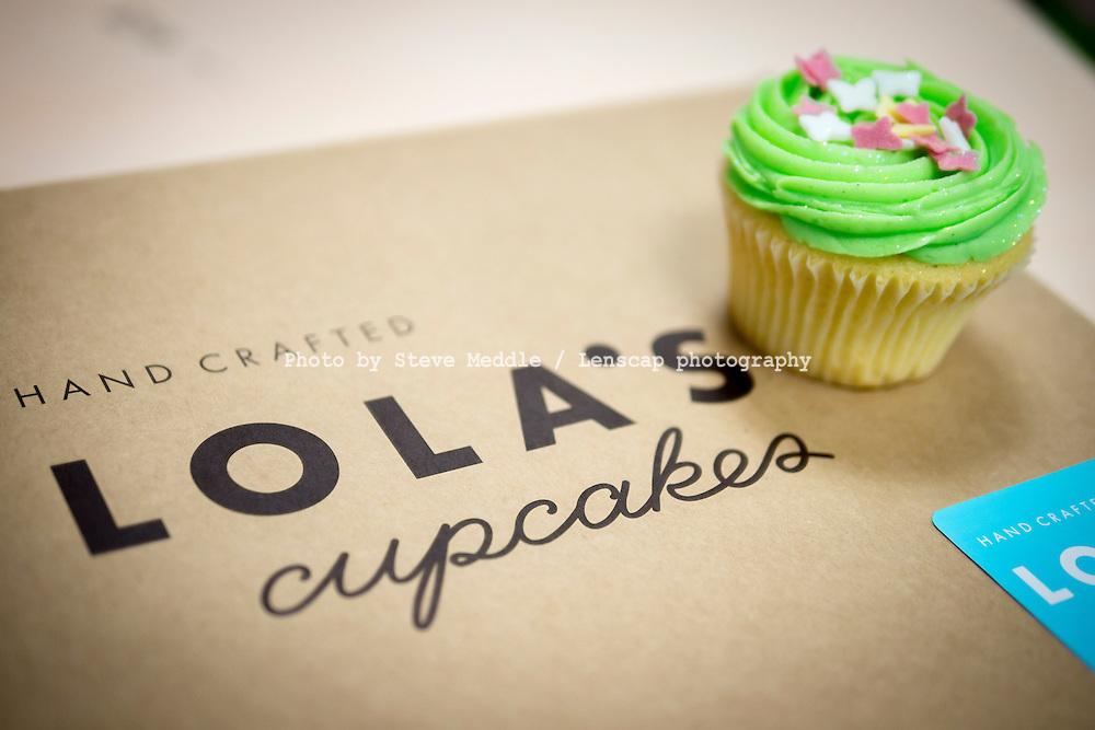 Box of Lola's Cupcakes - Oct 2013.