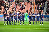 Groupe PSG - 18.01.2015 - Paris Saint Germain / Evian Thonon - 21eme journee de Ligue 1<br />Photo : Dave Winter / Icon Sport