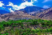 Indus River, Ladakh, Jammu and Kashmir State, India.