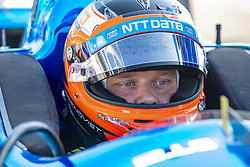 March 9, 2019 - St. Petersburg, Florida, U.S. - FELIX ROSENQVIST (10) of Sweeden prepares for a practice session for the Firestone Grand Prix of St. Petersburg at The Temporary Waterfront Street Course in St. Petersburg Florida. (Credit Image: © Walter G Arce Sr Asp Inc/ASP)