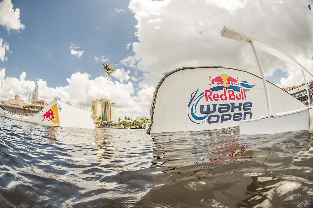 Aaron Rathy Competes at Red Bull Wake Open in Tampa Bay, Florida on July 5th 2013.