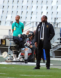 Benni McCarthy in the MTN8 semi-final first leg match between Cape Town City and Bidvest Wits at the Cape Town Stadium on Sunday 27 August 2017.