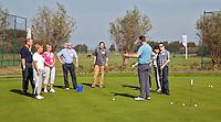 ALKMAA - Golfbaan Sluispolder, golfclinic  , FOTO KOEN SUYK
