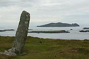 An Fear Marbh, (dead man sleeping) as seen from Davinia's (Chorca Dhuibhne) Rock on Slea Head, Dingle County Kerry.<br /> Photo Don MacMonagle - macmonagle.com