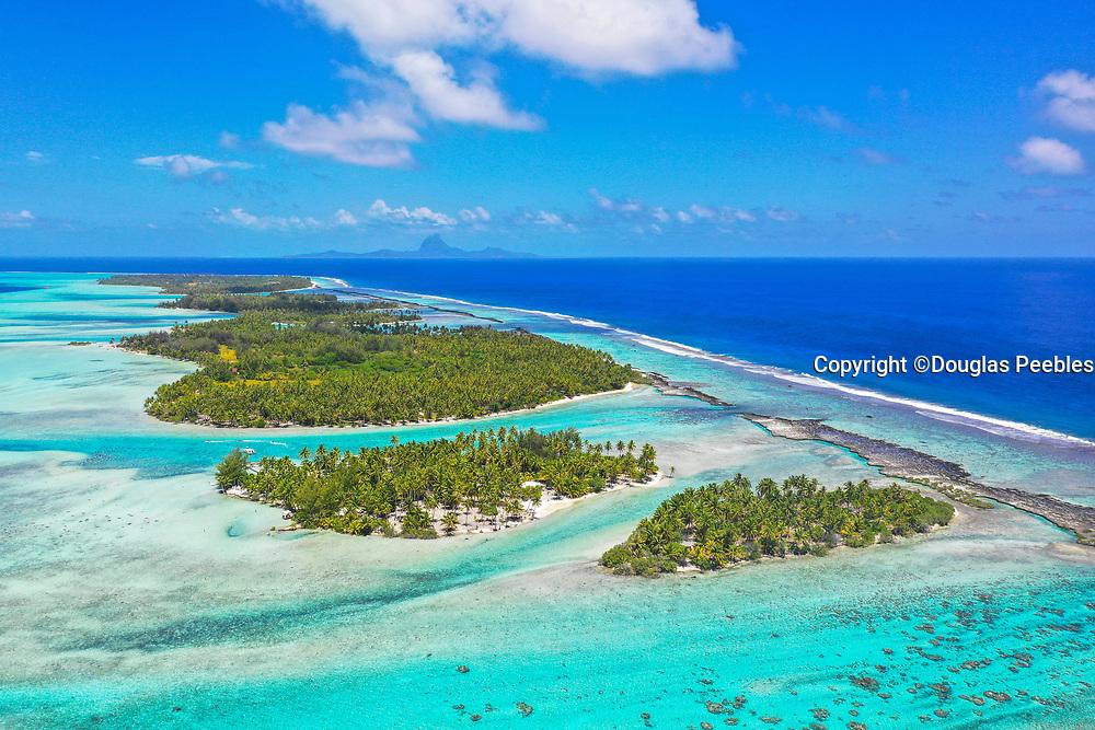 Motu Mahana, Tahaa, Society Islands, French Polynesia; South Pacific