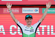 Podium, Benjamin King (USA - Dimension Data) winner, during the UCI World Tour, Tour of Spain (Vuelta) 2018, Stage 9, Talavera de la Reina - La Covatilla 200,8 km in Spain, on September 3rd, 2018 - Photo Luis Angel Gomez / BettiniPhoto / ProSportsImages / DPPI