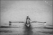 Sarasota. Florida USA., Friday,  01/10/2021, General View, LTU W1X. Olha HURKOVSKA,  moving away from the start pontoon,  2017 FISA World Rowing Championships, Nathan Benderson Park,<br /> [Mandatory Credit. Peter SPURRIER/Intersport Images].<br /> <br /> 17:16:58