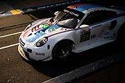 June 10-16, 2019: 24 hours of Le Mans. 94 PORSCHE GT TEAM, PORSCHE 911 RSR, Dennis OLSEN, Sven MÜLLER,  Mathieu JAMINET , morning warmup