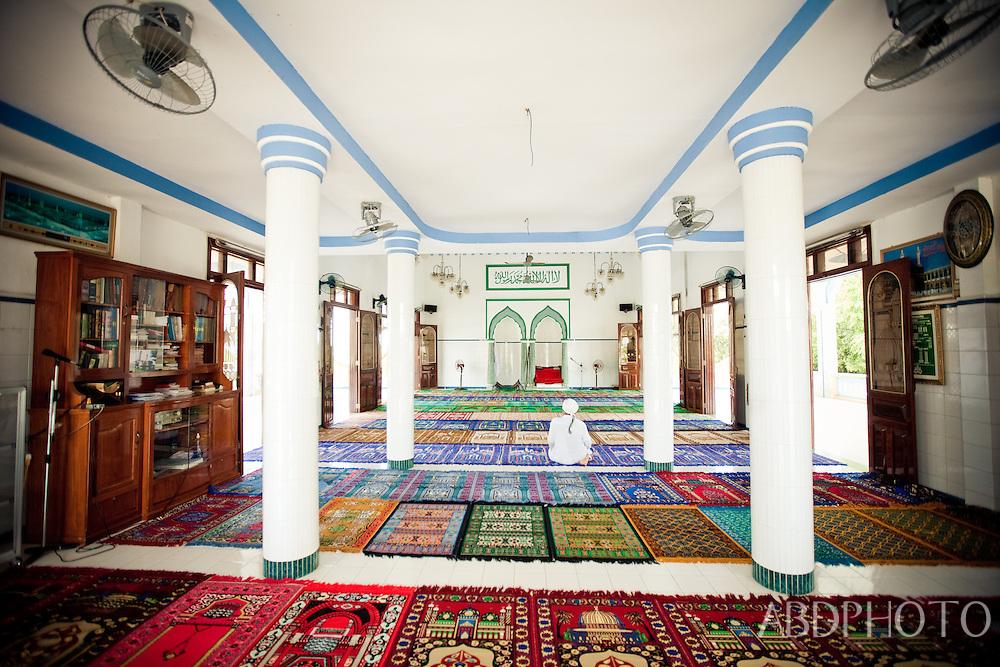muslim mosque in mekong delta vietnam
