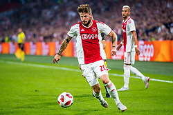 14-08-2018 NED: Champions League AFC Ajax - Standard de Liege, Amsterdam<br /> Third Qualifying Round,  3-0 victory Ajax during the UEFA Champions League match between Ajax v Standard Luik at the Johan Cruijff Arena / Lasse Schone #20 of Ajax