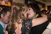 ALLIE ESIRI; SARAH VINE, Allie Esiri's The Love Book launch party , Daunt Books <br /> 83 Marylebone High Street, London. 5 February 2014