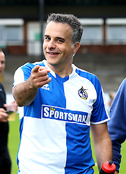 Wael Al-Qadi president of Bristol Rovers FC - Mandatory by-line: Robbie Stephenson/JMP - 04/09/2016 - FOOTBALL - Memorial Stadium - Bristol, England - Bristol Rovers Fans v Bristol City Fans - Bristol Fan Derby