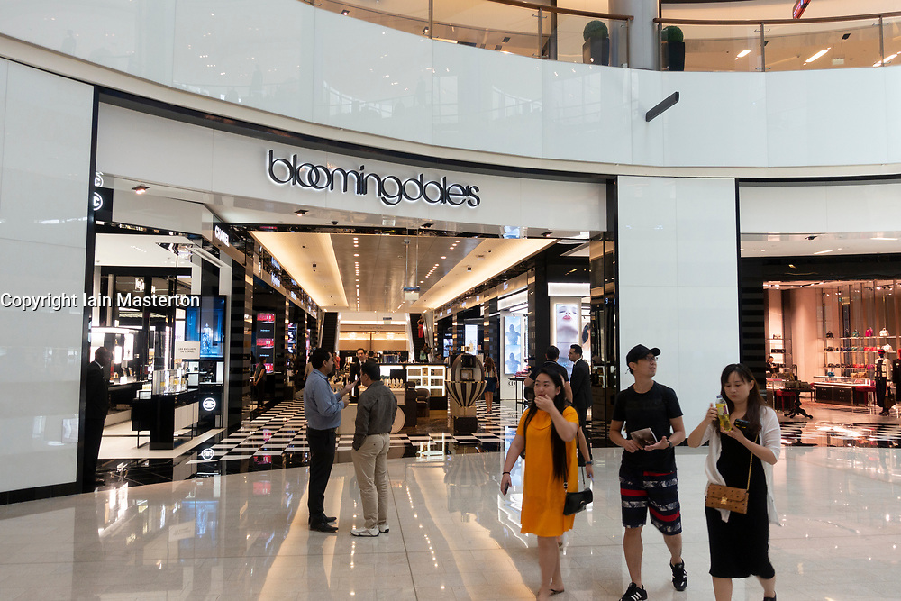 Bloomingdales department store inside Dubai Mall, UAE, United Arab Emirates