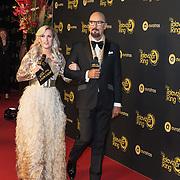 NLD/Amsterdam/20191009 - Uitreiking Gouden Televizier Ring Gala 2019, Britt Dekker en Maik de Boer
