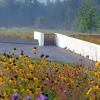 Dawn breaks of the 12th 9/11 Commemoration at the Flight 93 National Memorial near Shanksville,  Pennsylvania on September 11, 2013.  UPI/Archie Carpenter