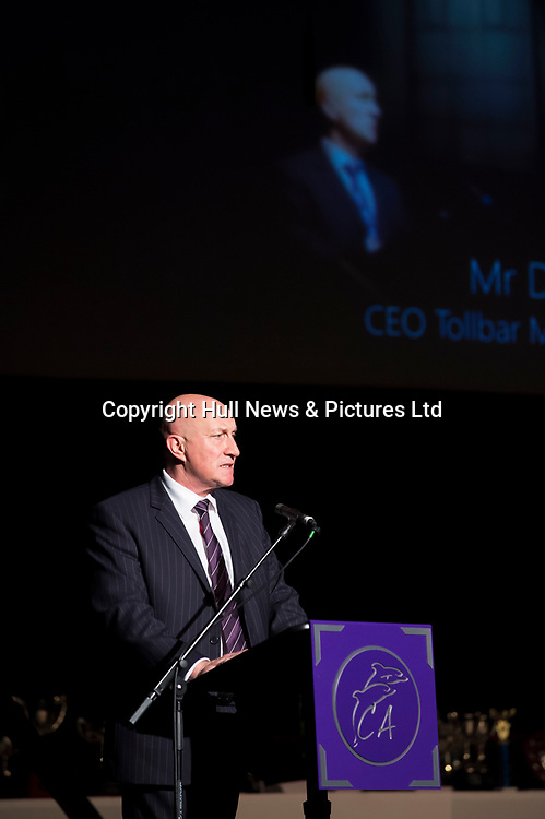 10 October 2017: Cleethorpes Academy Presentation Evening at Grimsby Auditorium. The guest speaker was Aled Jones MBE who presented the awards and also visited the Academy earlier in the day.<br /> Pictured is CEO David Hampson.<br /> Picture: Sean Spencer/Hull News & Pictures Ltd<br /> 01482 210267/07976 433960<br /> www.hullnews.co.uk         sean@hullnews.co.uk