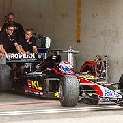 NLD/Zandvoort/20150628 - F1 demo Max Verstappen in de Toro Rosso, Jos Verstappen in zijn Minardi