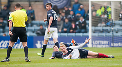 Falkirk's Mark Beck.<br /> Dundee 0 v 1 Falkirk, Scottish Championship game played today at Dundee's Dens Park.<br /> © Michael Schofield.