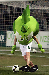 Mascot Trigi at the 8th day qualification game of 2010 FIFA WORLD CUP SOUTH AFRICA in Group 3 between Slovenia and Czech Republic at Stadion Ljudski vrt, on March 28, 2008, in Maribor, Slovenia. Slovenia vs Czech Republic 0 : 0. (Photo by Vid Ponikvar / Sportida)