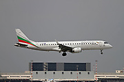 LZ-SOF Bulgaria Air Embraer 190-195 at Malpensa (MXP / LIMC), Milan, Italy