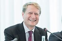14 JUN 2018, BERLIN/GERMANY:<br /> Ulrich Wilhelm, Vorsitzender der ARD, Pressekonferenz zur Reform des Telemedienauftrags der oeffentlich-rechtlichen Rundfunkanstalten, Landesvertretung Rheinland.-Pfalz<br /> IMAGE: 20180614-01-045