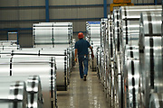 Rizhao Steel, manufacturing industry, construction factory, near Rizhao, Shandong Province, China