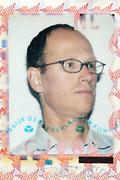 ID photo on passport document of the Netherlands