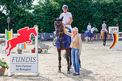07, Springprfg. Kl. S* mit Stechen-Fundis-Tour-,, Ehlersdorf, Reitanlage Jörg Naeve, 15. - 18.07.2021, Tjade Carstensen (GER), Ella von Kielslück,
