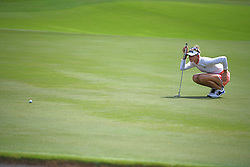 SINGAPORE, March 3, 2018  Jessica Korda of the United States competes during the 3rd round of the HSBC Women's World Championship held in Singapore's Sentosa Golf Club on March 3, 2018. (Credit Image: © Then Chih Wey/Xinhua via ZUMA Wire)
