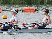 Caversham, Nr Reading, Berkshire.<br /> <br /> GBR LW2X. Bow Challotte TAYLOR and Kat COPELAND, Olympic Rowing Team Announcement morning training before the Press conference at the RRM. Henley.<br /> <br /> Thursday  09.06.2016<br /> <br /> [Mandatory Credit: Peter SPURRIER/Intersport Images] 09.06.2016,