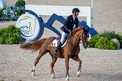 STAUT Kevin (FRA), Reveur de Hurtebise HDC<br /> Tryon - FEI World Equestrian Games™ 2018<br /> 2. Qualifikation Teamwertung 1. Runde<br /> 20. September 2018<br /> © www.sportfotos-lafrentz.de/Stefan Lafrentz