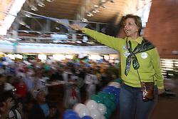 A candidata ao governo do Estado do RS, Yeda Crusius durante almoço de aniversário de Berfran Rosado. FOTO: JEFFERSON BERNARDES/PREVIEW.COM