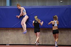 Mathilde U. Kramer. Danske Mesterskaber indendørs i atletik 2017  i Spar Nord Arena, Skive, Denmark, 18.02.2017. Photo Credit: Allan Jensen/EVENTMEDIA.