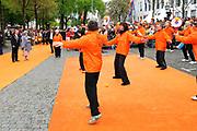 Koninginnedag 2010 . De Koninklijke familie in het zeeuwse  Middelburg. / Queensday 2010. De Royal Family in Middelburg.<br /> <br /> op de foto / on the photo ;  Koningin Beatrix / Queen Beatrix