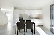 Architecture, interior of a modern house, domestic kitchen