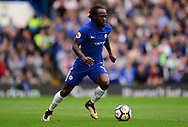 Victor Moses of Chelsea in action. Premier league match, Chelsea v Arsenal at Stamford Bridge in London on Sunday 17th September 2017.<br /> pic by Andrew Orchard sports photography.