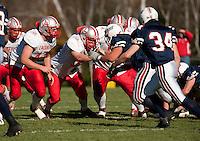 Laconia football versus Plymouth November 5, 2011.