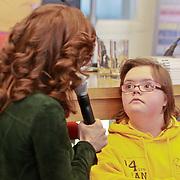 NLD/Amsterdam/20110314 - Presentatie nieuwe Helden en 14 jarig bestaan Johan Cruijff Foundation, Barbara Barend