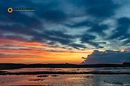 Sunrise clouds over Wetlands at Valentine National Wildlife Refuge in Cherry County, Nebraska, USA